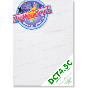 TheMagicTouch DCT 4.5C waterslide decal paper A3 and A4 format