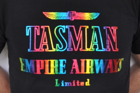 TheMagicTouch T.Foil Rainbow Tasman Empire Airways Limited