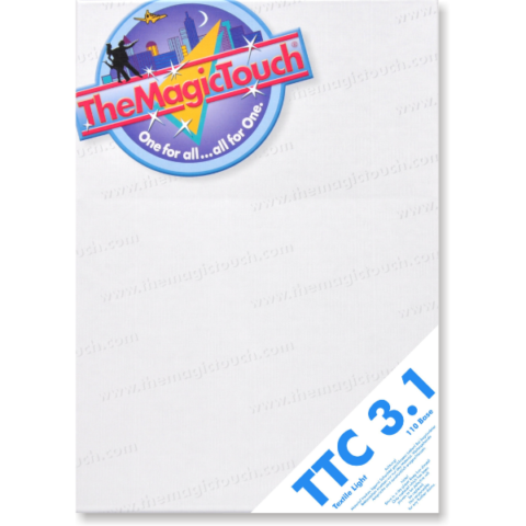 TheMagicTouch TTC 3.1 textile light transfer paper