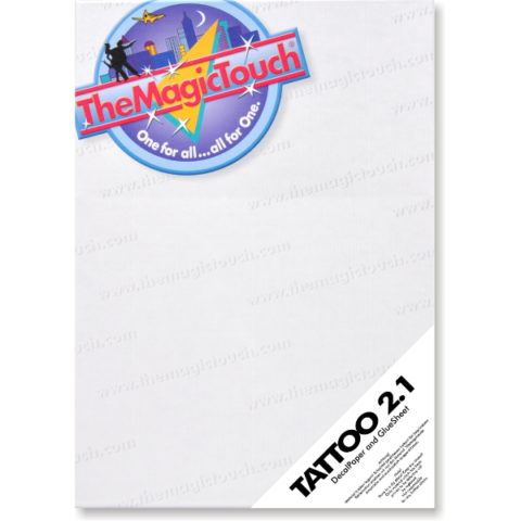 TheMagicTouch Tattoo 2.1 transfer paper