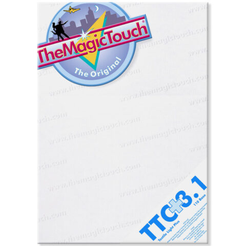 TheMagicTouch TTC 3.1Plus, Textile light transfer paper A3 and A4 format